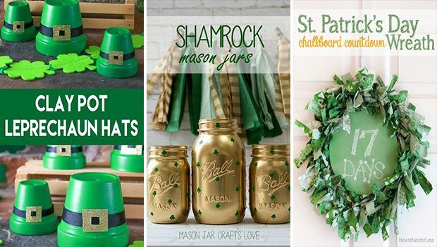 17 DIY Decor Ideas For St Patrick's Day That Will Bring You Luck