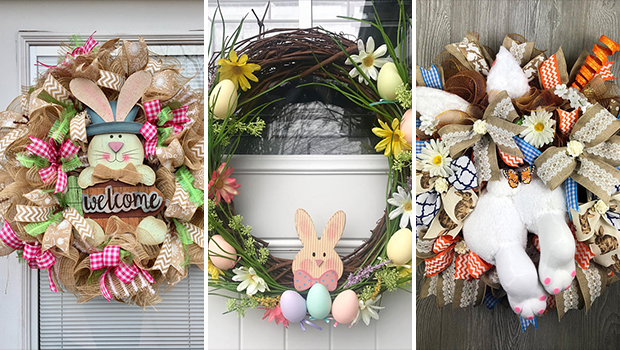 17 Fantastic Handmade Easter Wreath Designs You'll Want To ...
