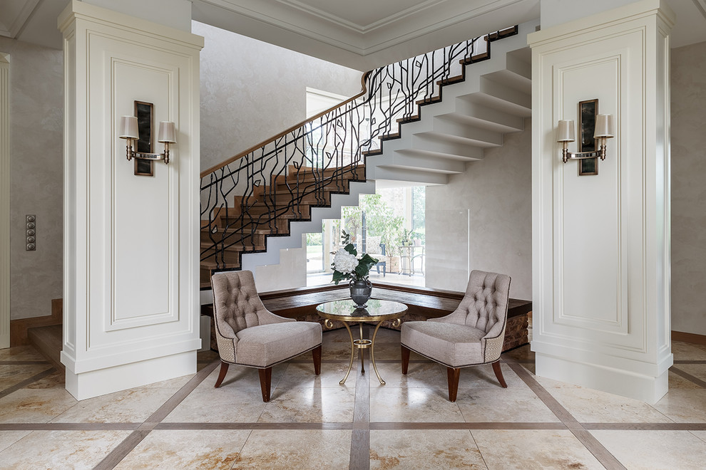 18 Charming Transitional Staircase Designs Youll Love