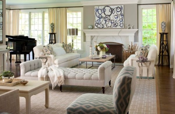 17 Perfect Ideas To Decorate Functional Space For Lounging In The Living Room