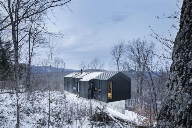 Bolton Residence by Naturehumaine in Quebec, Canada