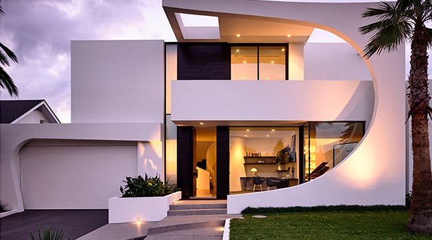 Cosham Street House by Martin Friedrich Architects in Brighton, Australia