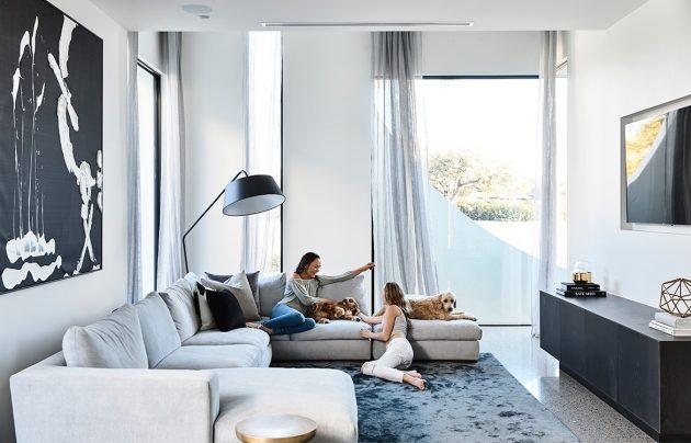 Cosham Street House by Martin Friedrich Architects in Brighton, Australia