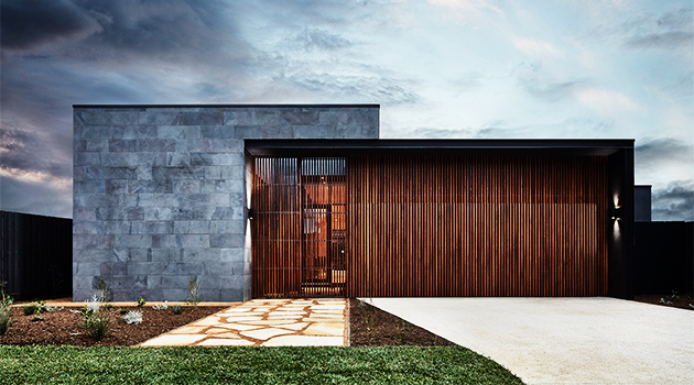Courtyard House by Lifespaces Group in Victoria, Australia