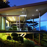 Estancia y Ficus by Canas Arquitectos in Escazu, Costa Rica