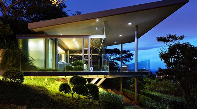 Estancia y Ficus by Canas Arquitectos in Escazu, Costa Rica