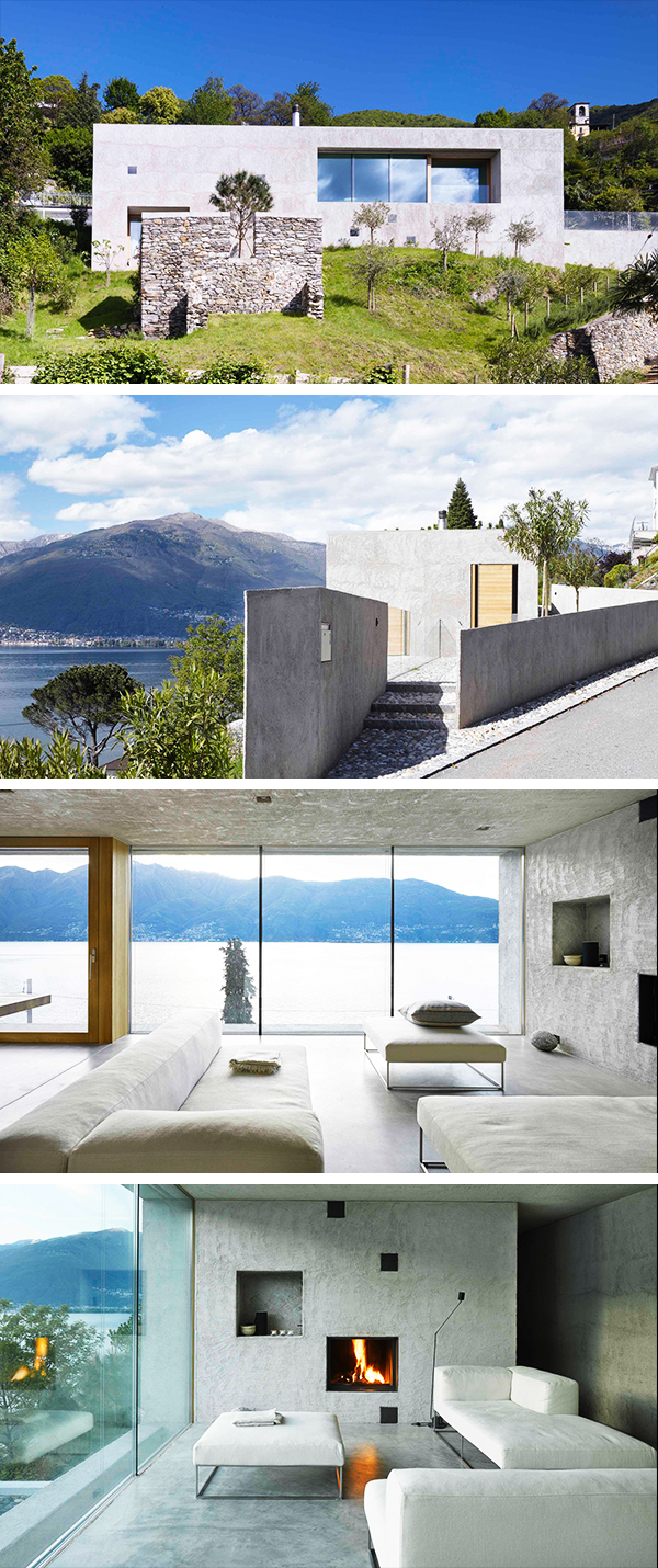 House in Ranzo by Wespi de Meuron in Ranzo, Switzerland