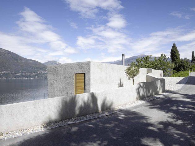 House in Ranzo by Wespi de Meuron in Ranzo, Switzerland