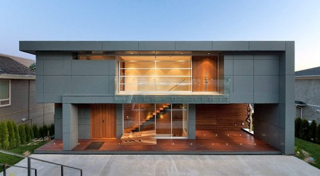 Palmerston Residence by Mansouri Design + Build in Vancouver, Canada