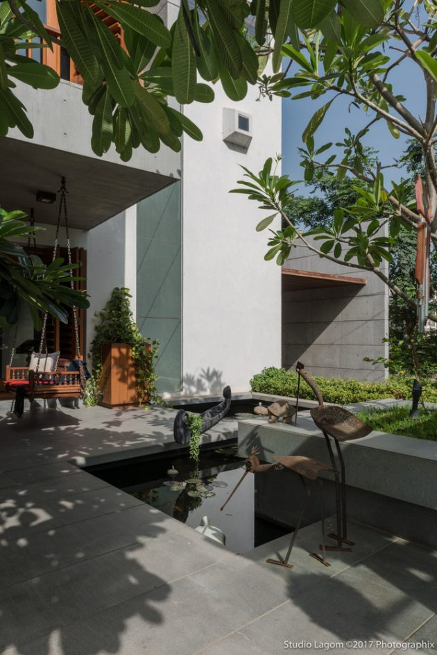 Skewed House by Studio Lagom in Surat, India