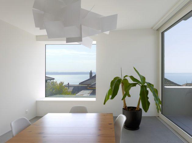 Villa SAH by Andrea Pelati Architecte in Neuchâtel, Switzerland