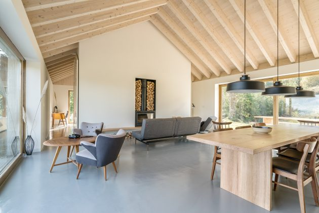 Villa Slow by Laura Alvarez Architecture in Cantabria, Spain