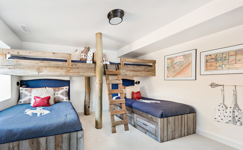 15 Fantastic Rustic Kids Room For Your Mountain Cabin