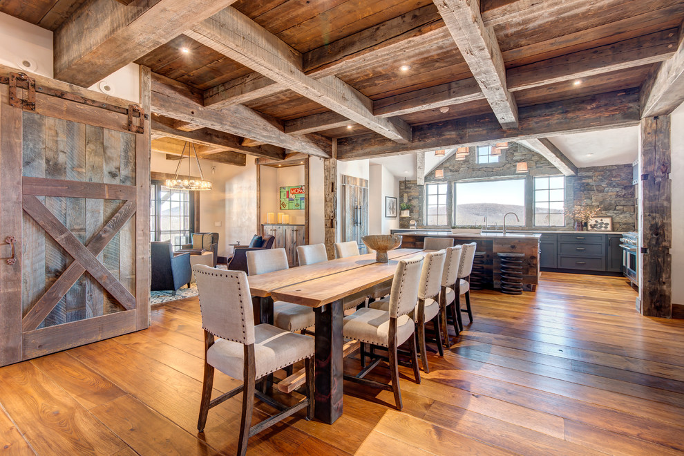 15 Ideal Rustic Dining Room Designs That Will Charm You