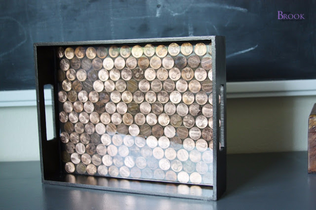 15 Interesting DIY Decor Projects Made Out Of Pennies