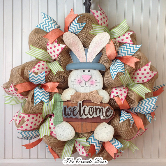 15 Magical Handmade Easter Wreath Designs You Must See