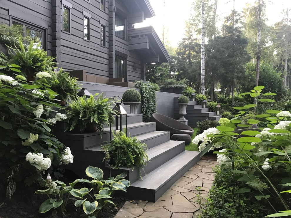 16 Astounding Transitional Landscape Designs That Create A Soothing Atmosphere