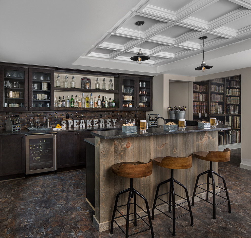 Home Design Bar Ideas: 16 Elegant Rustic Home Bar Designs That Will Customize