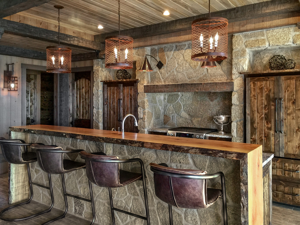 16 Elegant Rustic Home Bar Designs That Will Customize ...