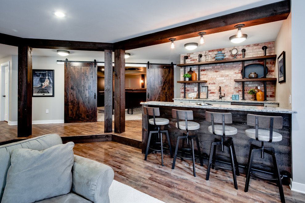 16 elegant rustic home bar designs that will customize for Design your house
