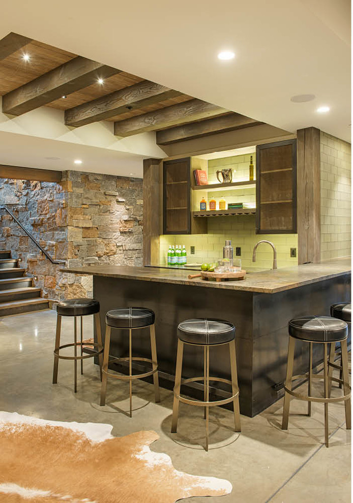 16 Elegant Rustic Home Bar Designs That Will Customize Your Home