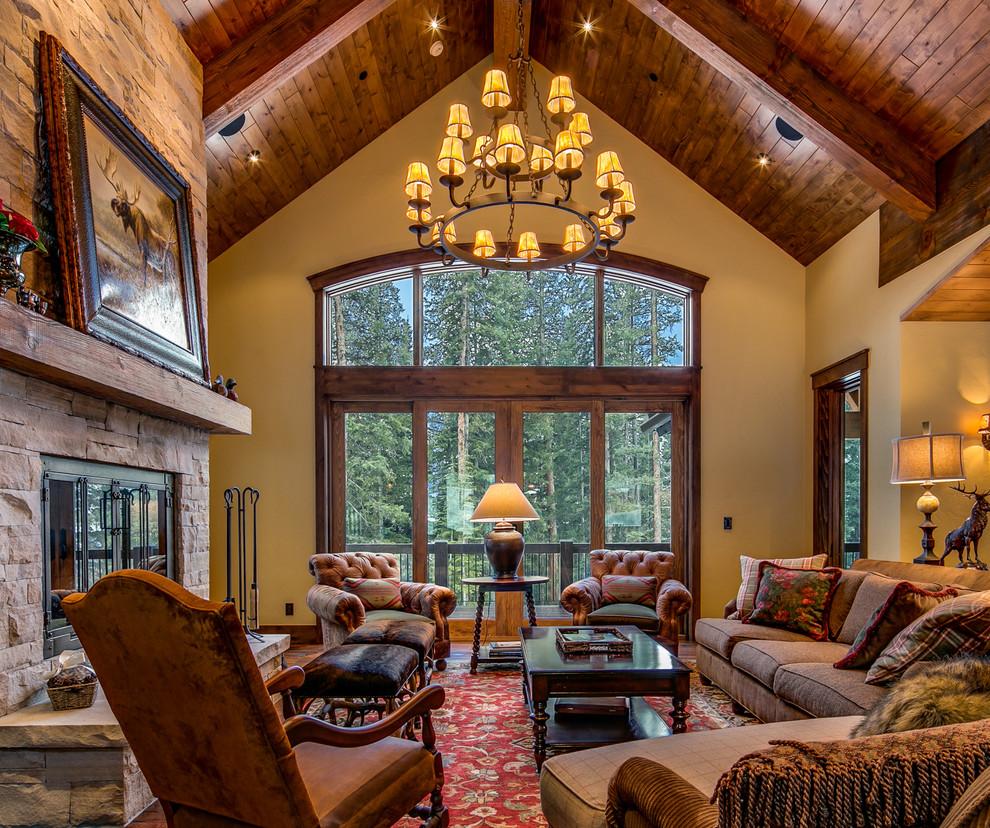 18 Rustic Living Room Design Photos