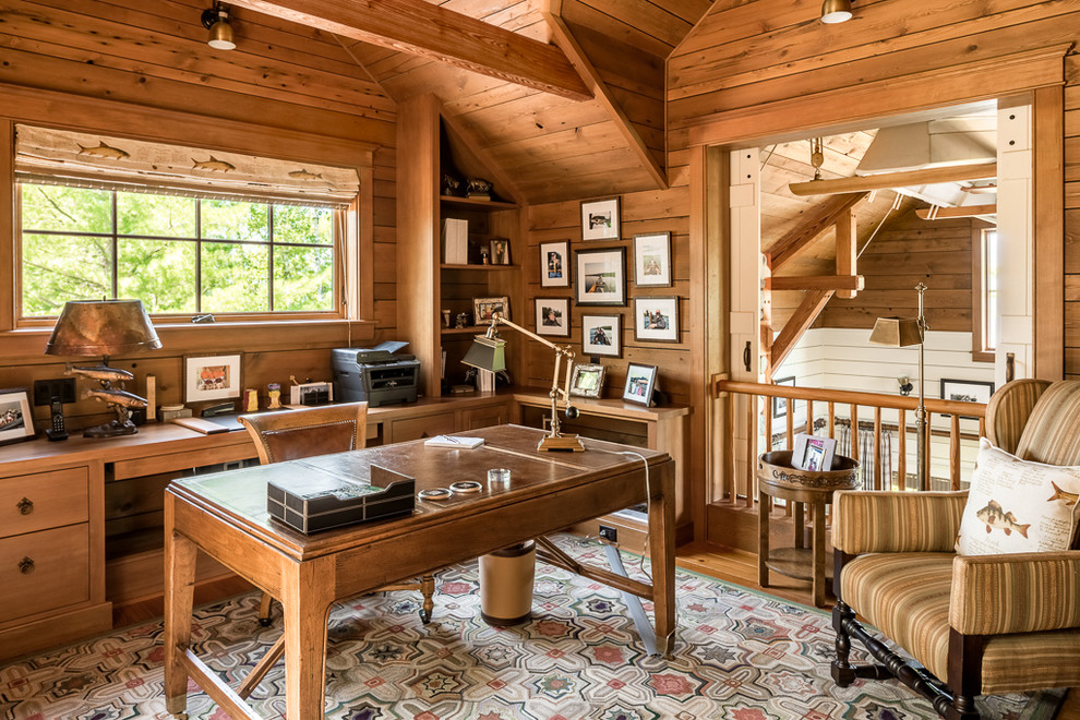 18 Stylish Rustic Home Office Designs That Will Boost Your Productivity