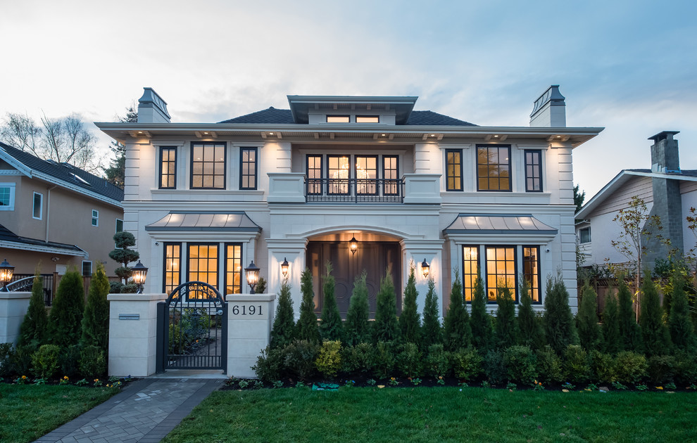 18 Tremendous Transitional Home Exterior Designs You Will Fall For
