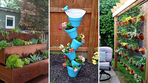 22 Awesome DIY Vertical Garden Ideas That Will Refresh Your Garden