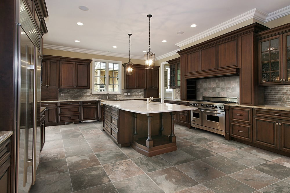 3 Unique Options For Kitchen Flooring on tuscan kitchen floor ideas, laminate kitchen floor ideas, travertine kitchen floor ideas, checkered kitchen floor ideas, grey kitchen floor ideas, slate kitchen floor ideas, white kitchen floor ideas,