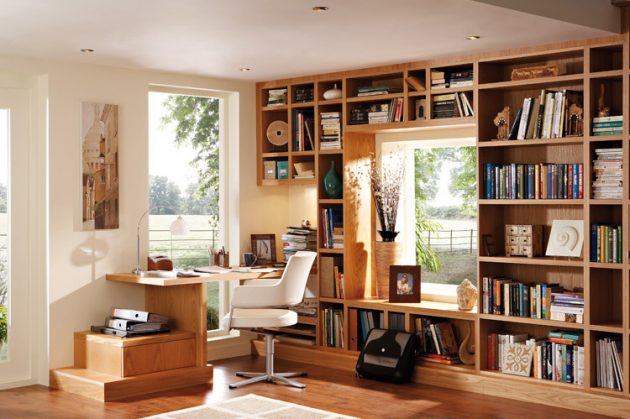 18 Attractive Examples For Decorating Functional Home Office