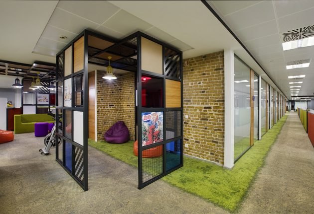 A Flexible and Dynamic Office Design from Boytorun Architects: PepsiCo Turkey