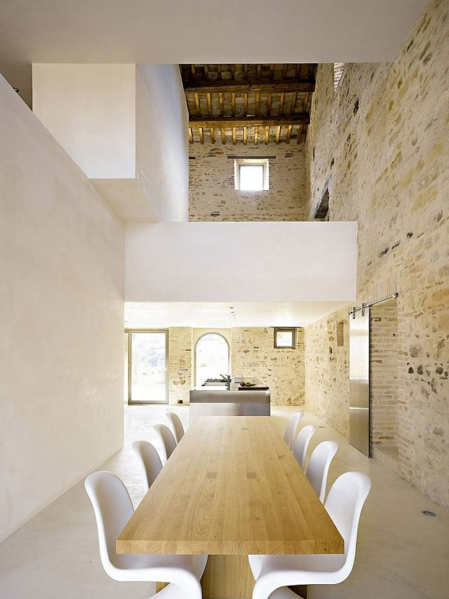 Casa Olivi Renovation by Wespi de Meuron in Treia, Italy