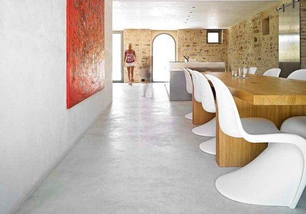 Casa Olivi Renovation by Wespi de Meuron in Treia, Italy