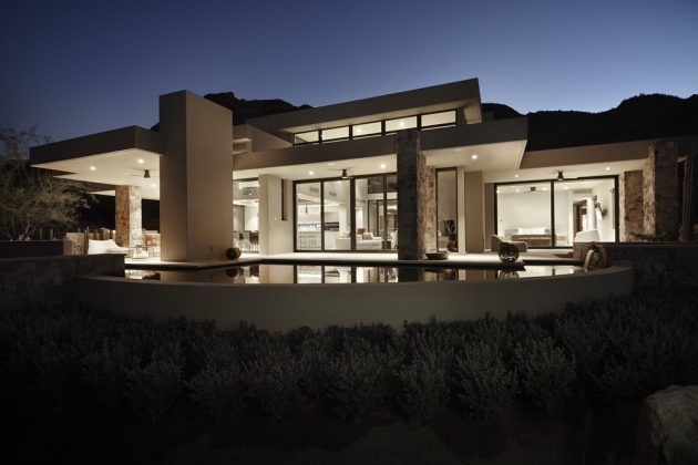 Danzante Bay Villa by Kevin B Howard Architects in Baja California Sur, Mexico