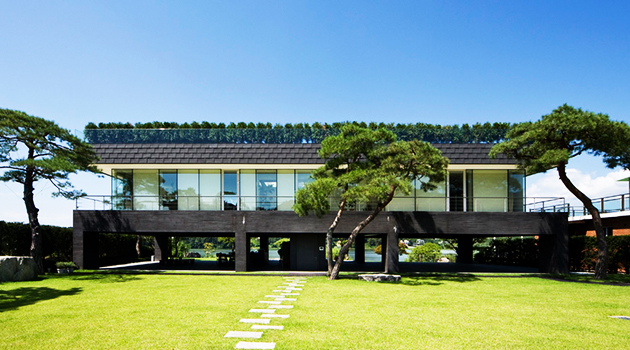 Floating House by Hyunjoon Yoo Architects in Gyeonggi, South Korea