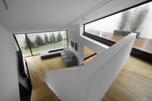 House Z by Closer Architects in Prague, Czech Republic