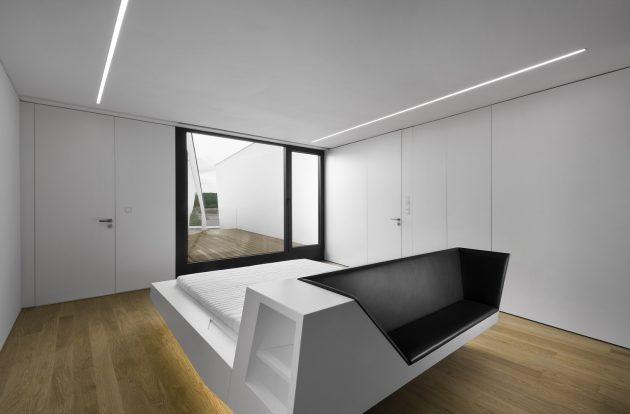 House Z by Closer Architects in Prague, Czech Republic