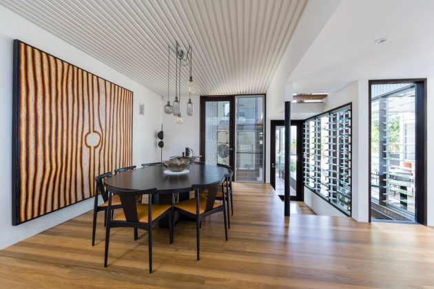 Iron Maiden House by CplusC Architectural Workshop in Sydney, Australia