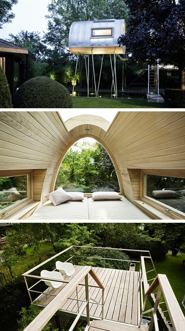Charming King Of The Frogs Treehouse Project By Baumraum In Germany Amazing Ideas