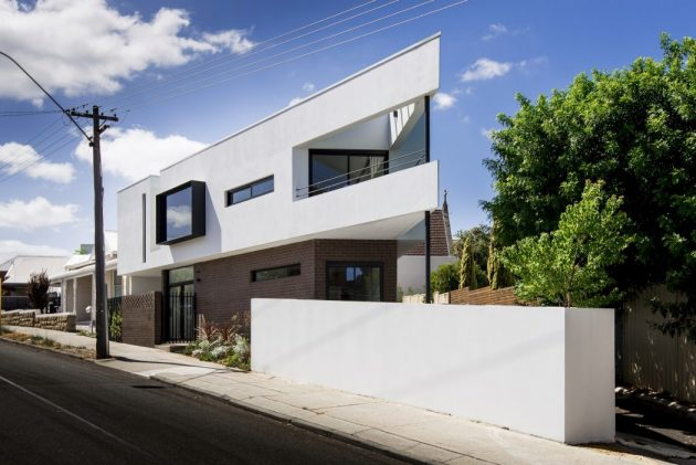 Mount Lawley House by Robeson Architects in Perth, Australia