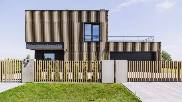 Poznan House by ZONA Architekci in the Polish City of Poznan