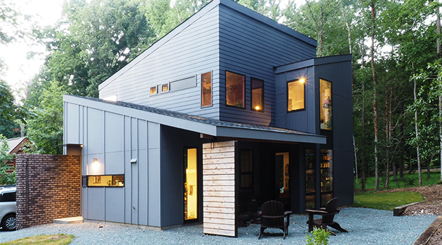 Witte Home by Wittehaus in North Carolina, USA