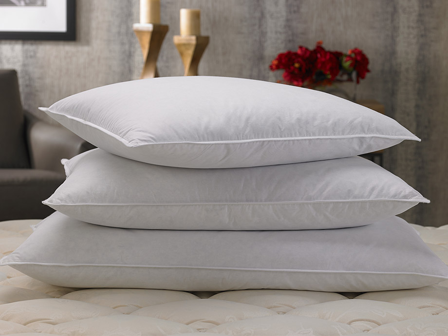 What you should know to choose the right pillow for Choosing pillows for bed