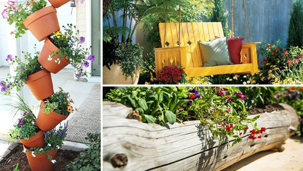 15 Awesome DIY Garden Projects You Can Do Within One Day