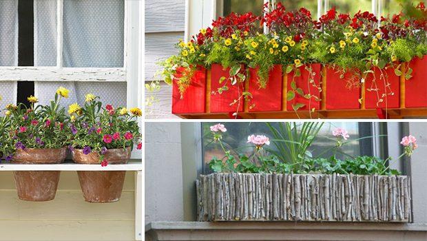 15 Beautiful DIY Window Planter Box Ideas For This Spring