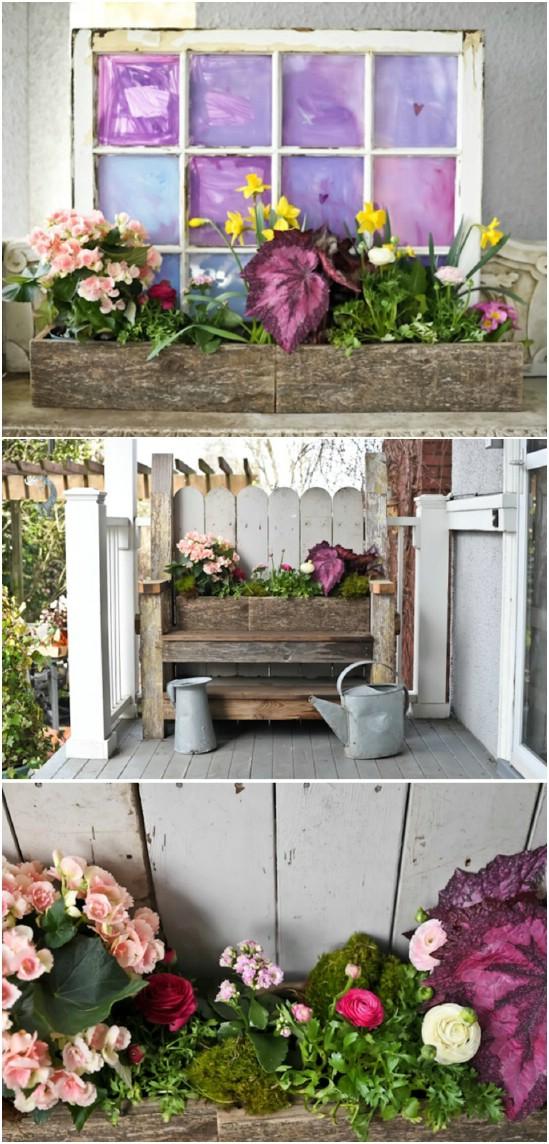 Garden Art Repurposed