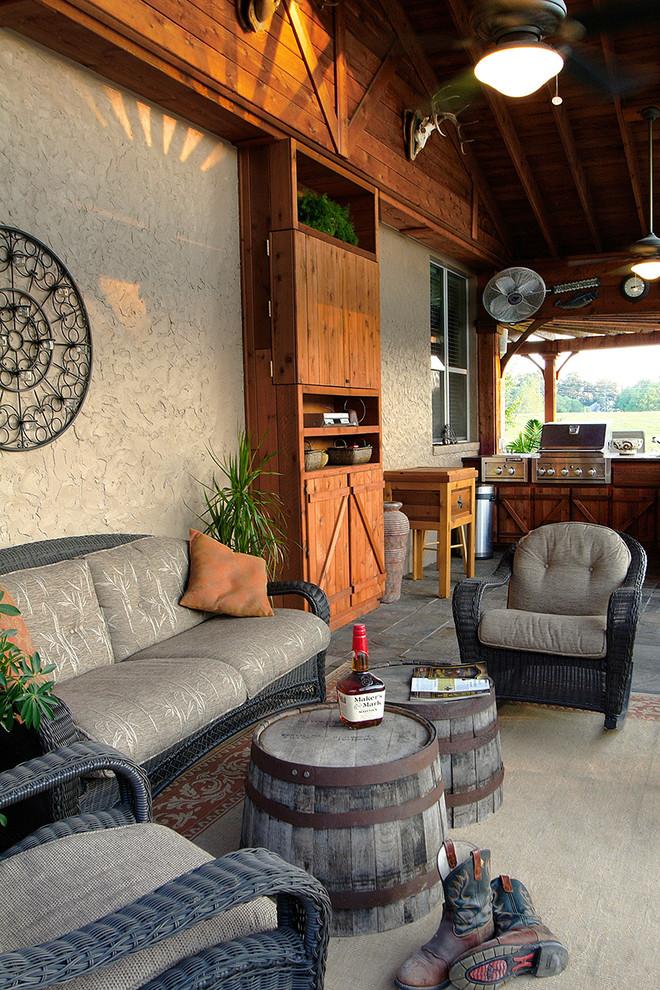 15 Incredible Rustic Patio Designs That Make The Backyard ... on Patio Designs  id=80223