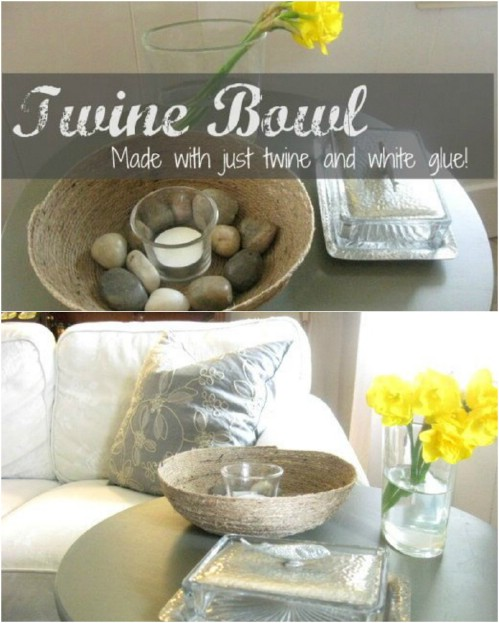 31 Rustic Diy Home Decor Projects: 16 Crafty DIY Twine Projects That Will Bring The Rustic Charm To Your Home Decor