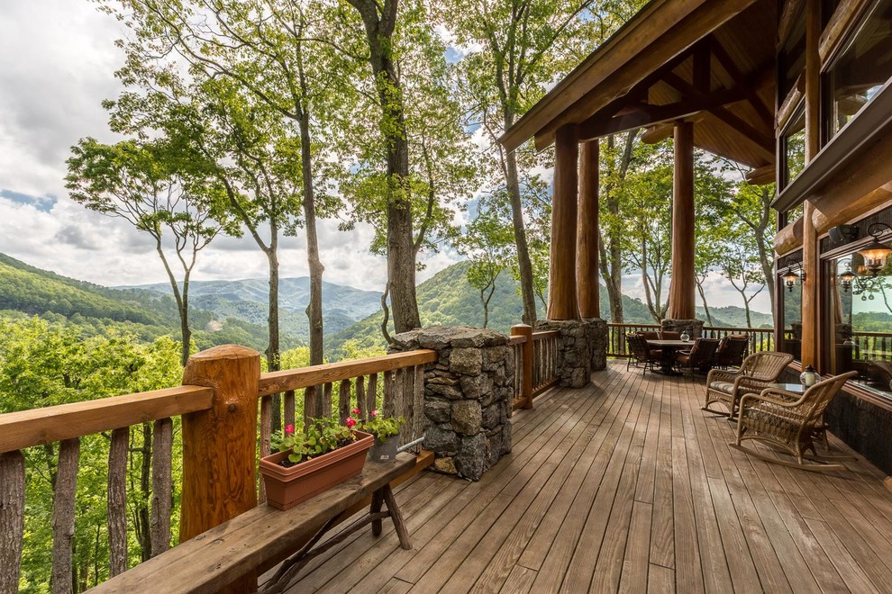 16 Fantastic Rustic Terrace Designs With Views To Go Along With The Comfort